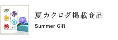 夏カタログ掲載商品